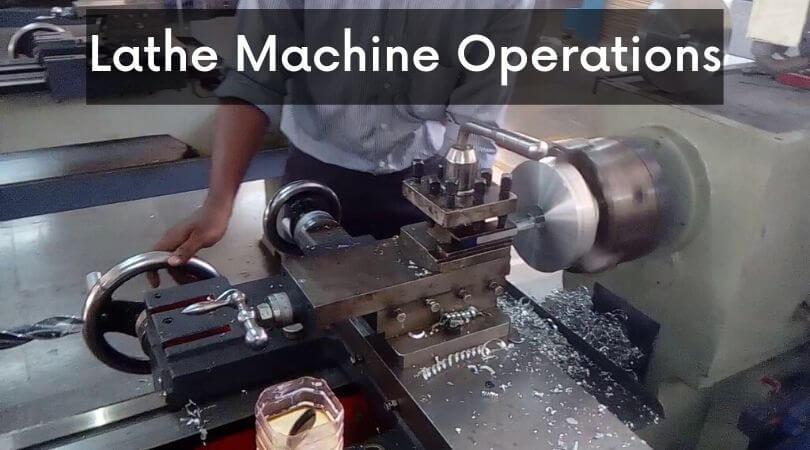 lathe machine operations
